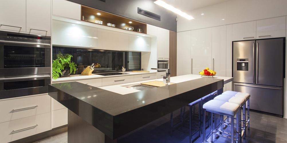 Der U201eSeelenraumu201c Küche.