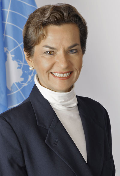 Christiana Figueres, Executive Secretary of the UN Framework Convention on Climate Change (UNFCCC)