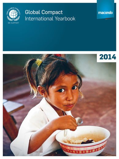 Coverbild des Global Compact International Yearbook 2014
