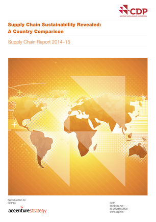 CDP Supply Chain Report 2014-2015