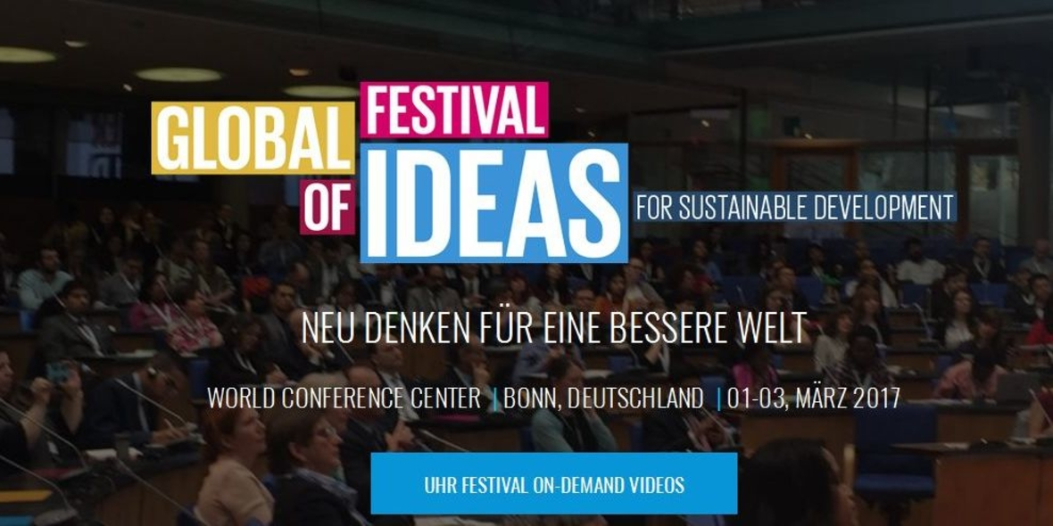 Global Festival of Ideas: SDGs spielend erlernen