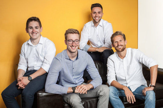 Das Team des Start-ups HAMBL Group