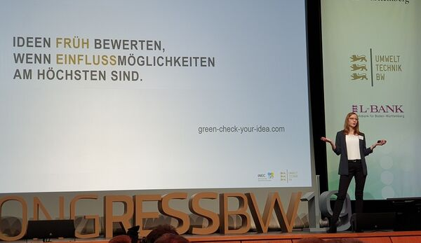 "Neues Online-Tool ""Green Check your Idea"""
