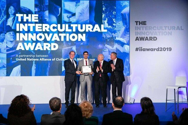 Preisverleihung des Intercultural Innovation Award 2019