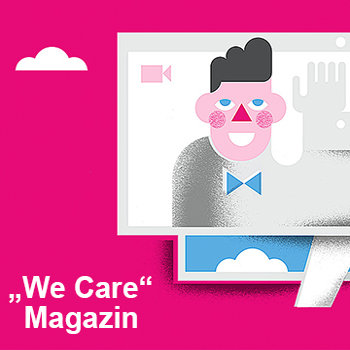 Blickpunkt Telekom We Care Magazin neu