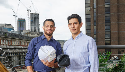 Urbane Windkraftanlage gewinnt James Dyson Award