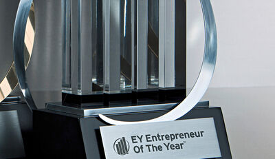 "Gewinner des ""EY World Entrepreneur Of The Year"""