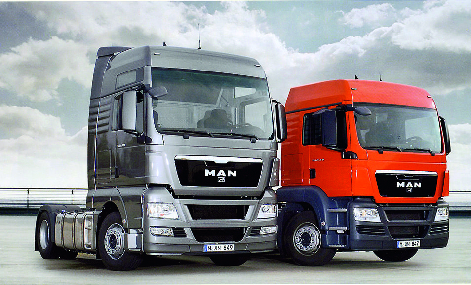 "MAN TGS und TGX werden ""Truck of the Year 2008""."
