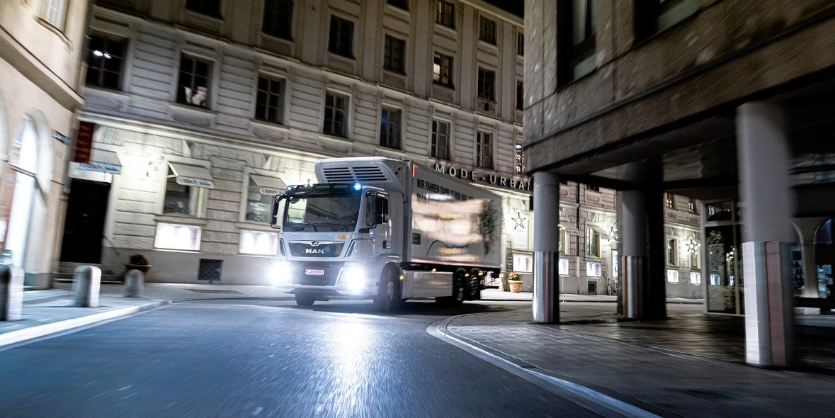 MAN elektrifiziert die City-Logistik