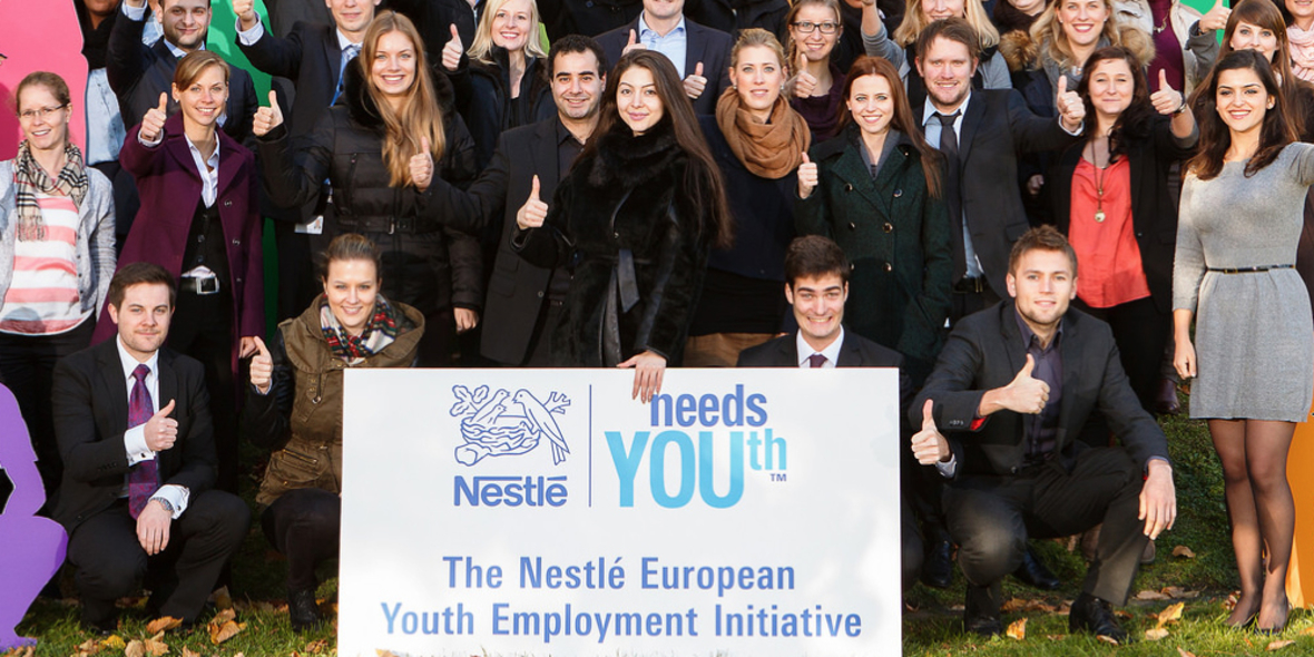 "Nestlé stellt ""Alliance for YOUth"" in Europa vor"