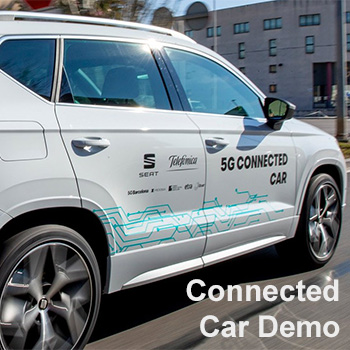 Blickpunkt Telefónica Connected Car Demo