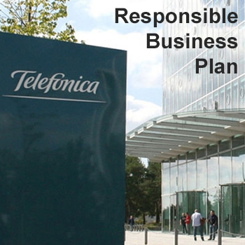 Blickpunkt Telefónica Responsible Business Plan