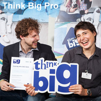Think Big Pro neue Kachel.