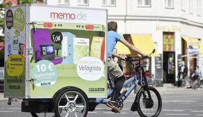 """Same Day Delivery"": memo AG schafft's klimaneutral"